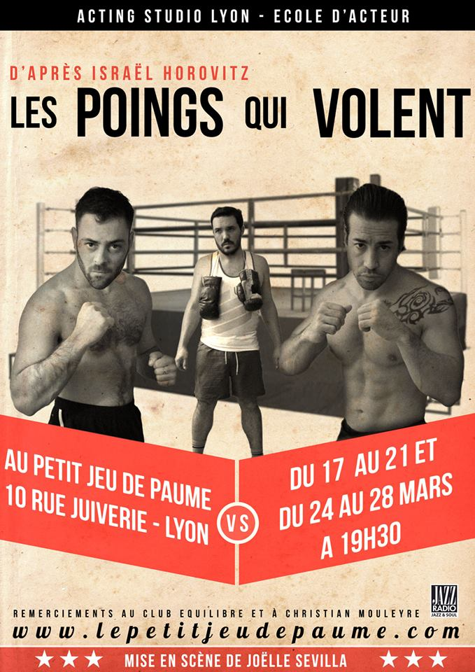 Les poings qui volent